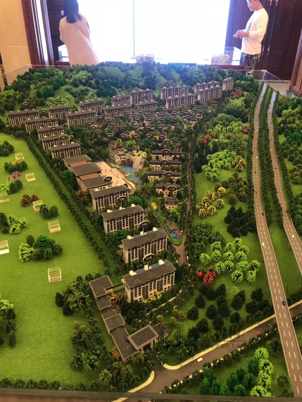 北京奥凯模型--嘉宁山语泉模型