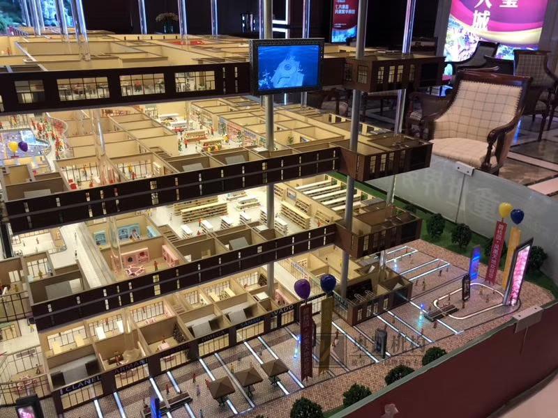 北京奥凯模型--商场升降展示模型