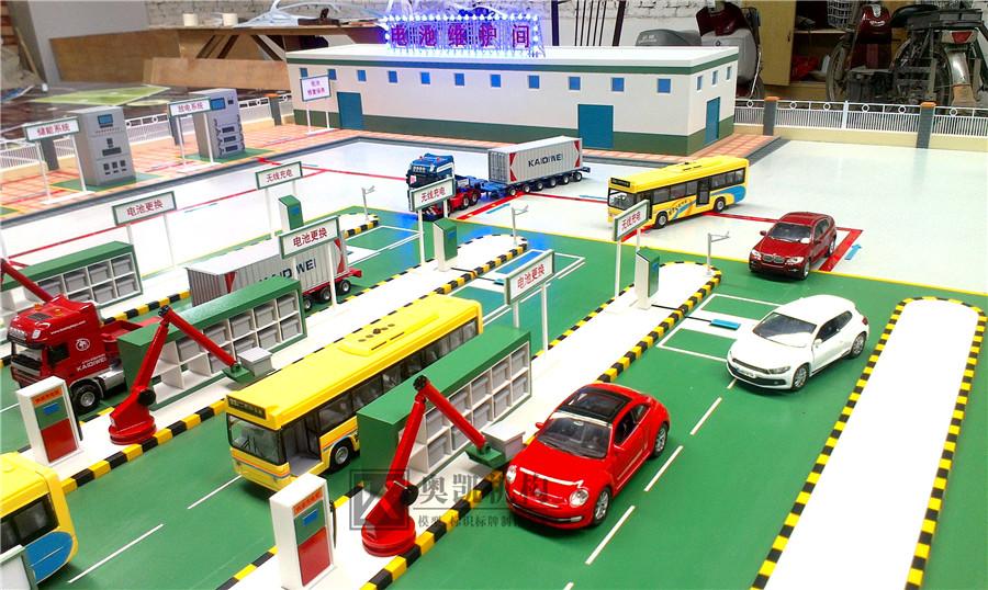 北京奥凯模型--山西国电充电站模型
