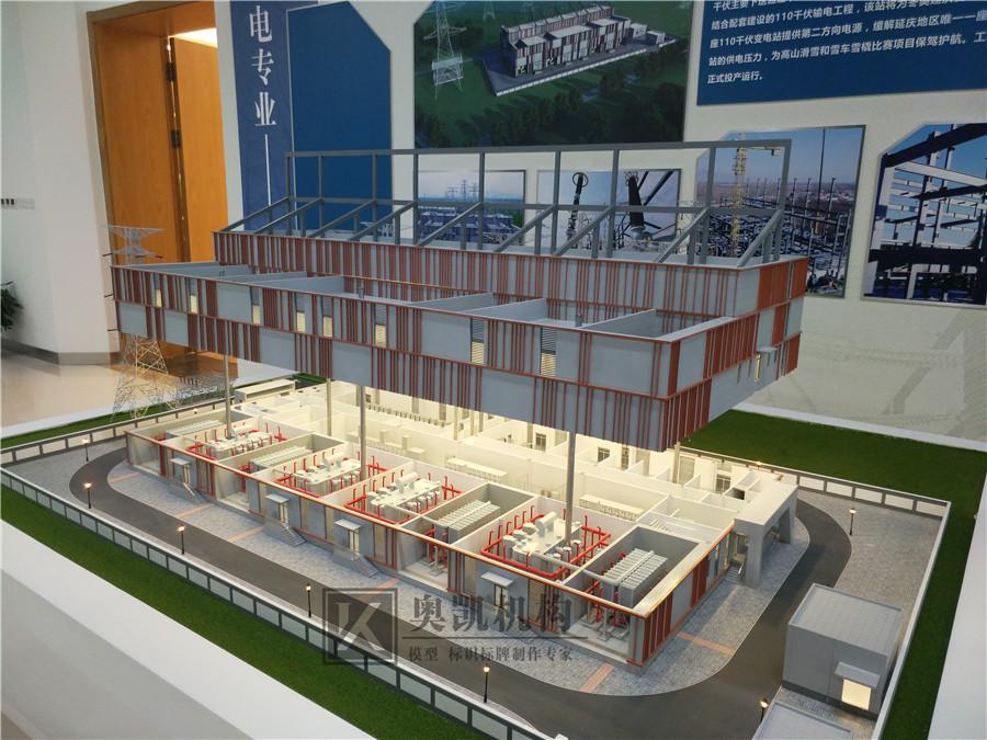 北京奥凯模型--国家电网变电站系列模型