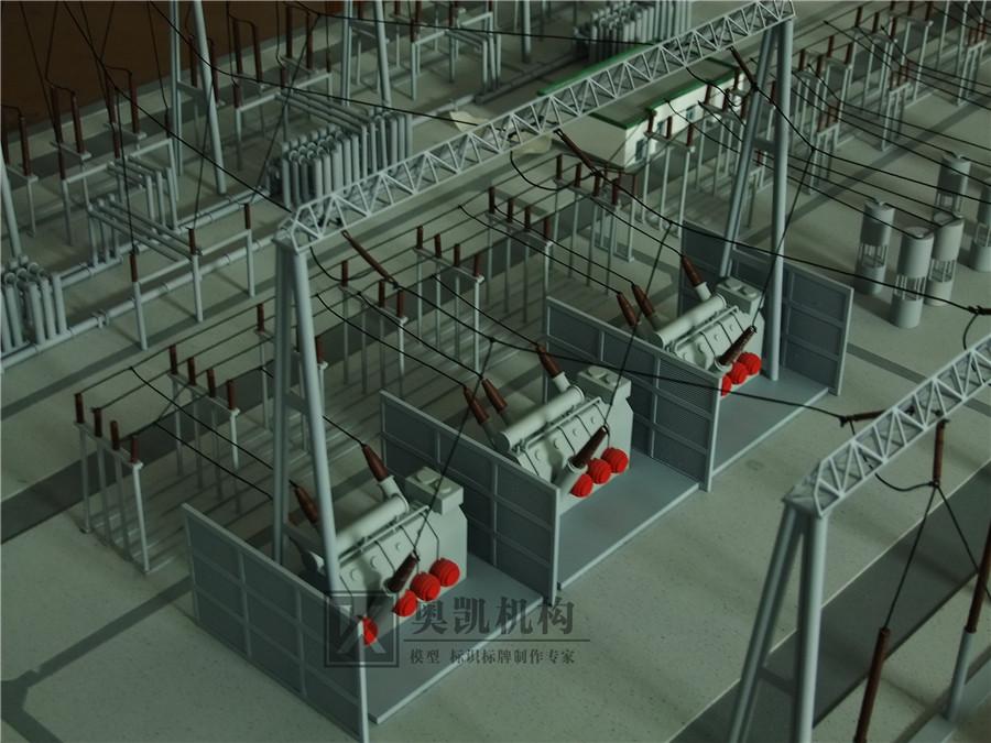 北京奥凯模型--电站模型
