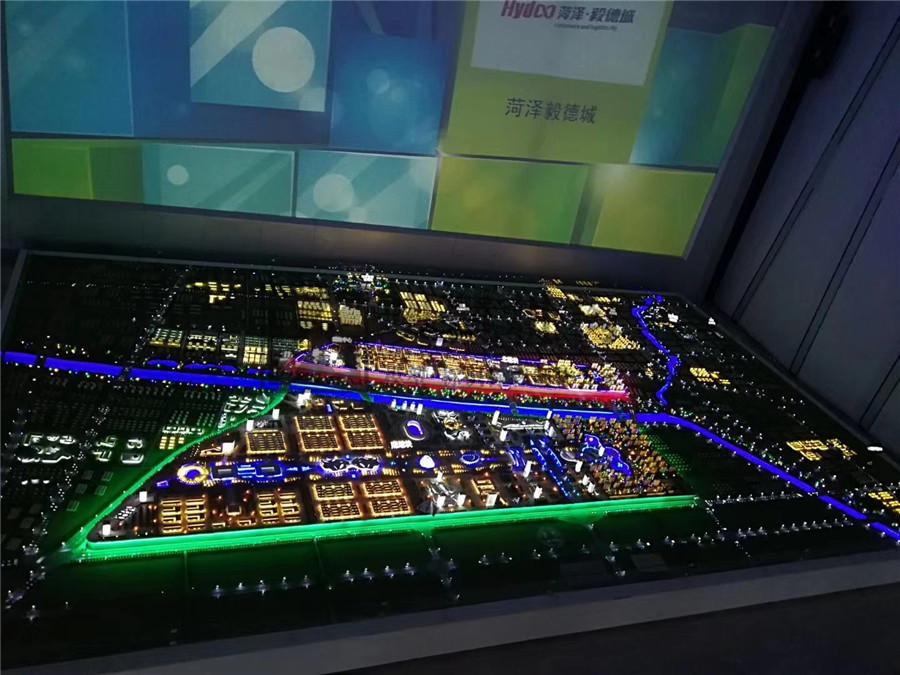 北京奥凯模型--菏泽翼德城规划模型
