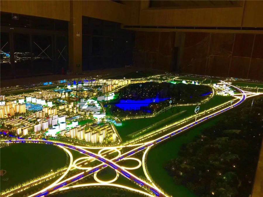 北京奥凯模型--汉中智慧新城模型