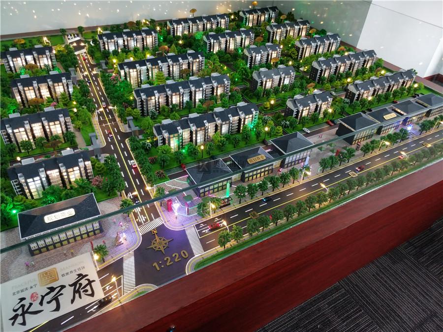 北京奥凯模型--北京永宁府模型