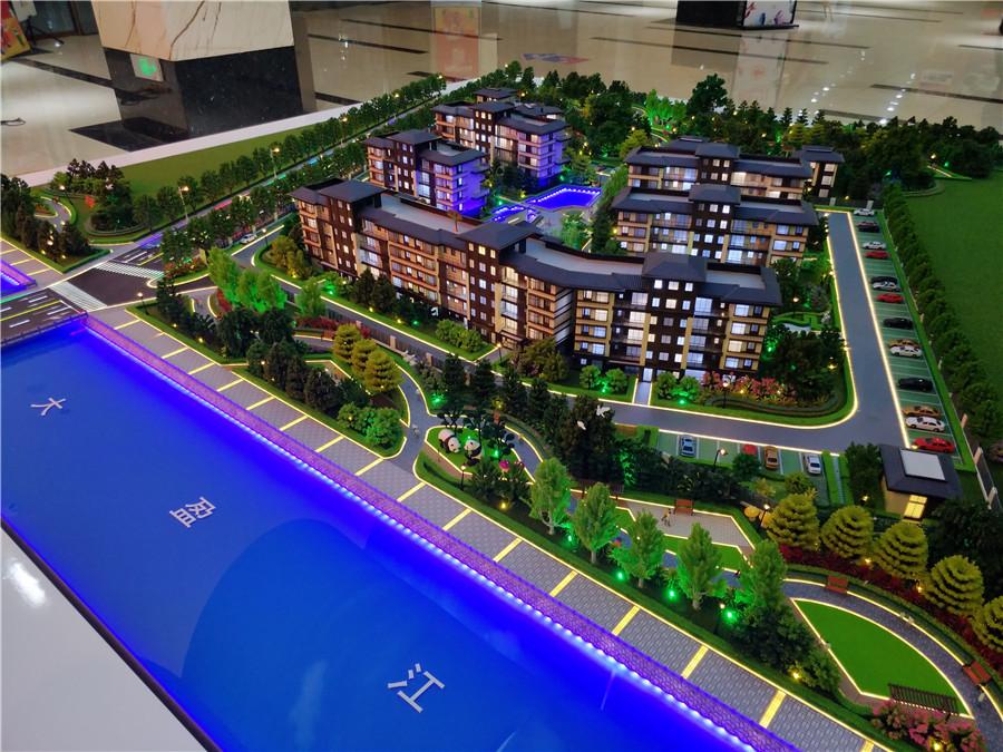 北京奥凯模型--云南腾冲御景云庭沙盘