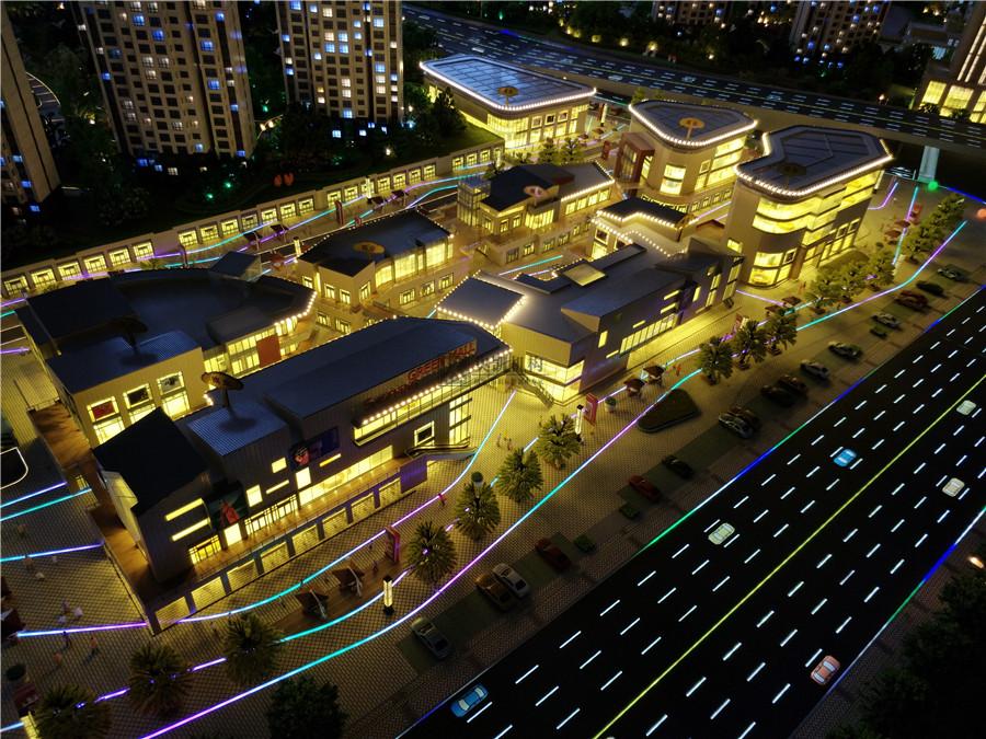 北京奥凯模型--大同桐城新林1-100模型
